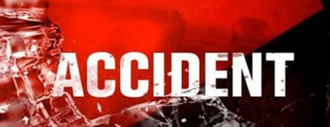 Two footboard travellers die as bus hits culvert in Kadugannawa