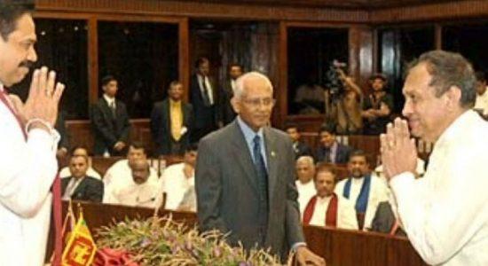 Karu Jayasuriya for presidential candidate?