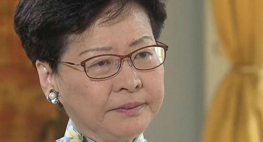 """'How can I betray Hong Kong"""" asks tearful Chief Executive Carrie Lam"""