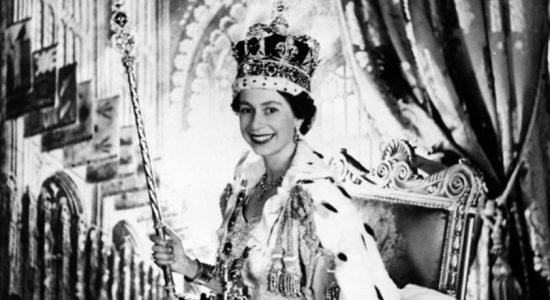 Britain's Queen Elizabeth celebrates 66 years since coronation