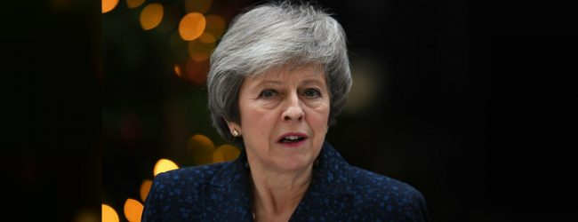 May steps down as Leader of the Conservative Party