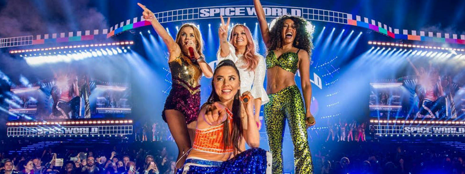 Spice Girls rock London's Wembley Stadium