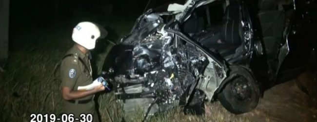 Three women including a pregnant woman die in head-on collision