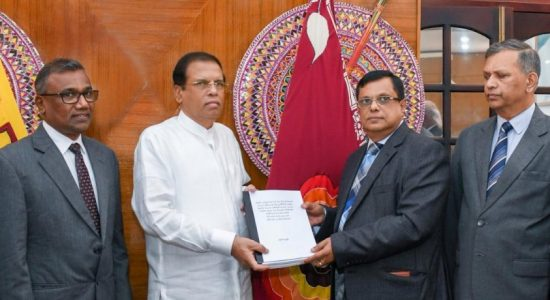 Final report of 04/21 attack handed over to President