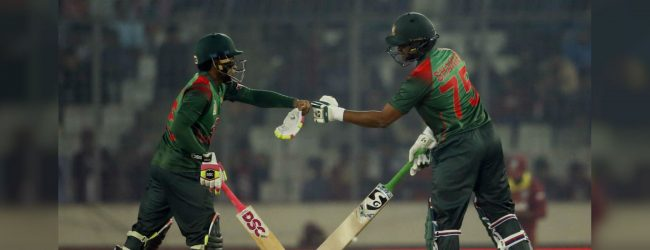 Shakib smashes century as Bangladesh sink West Indies
