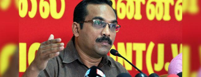 PM is in favor of racial issues flaring up – JVP MP Bimal Rathnayake