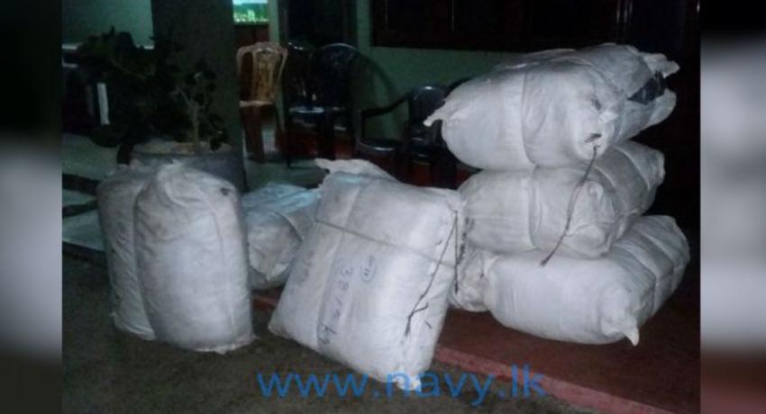 335.7kg of beedi leaves recovered in Jaffna