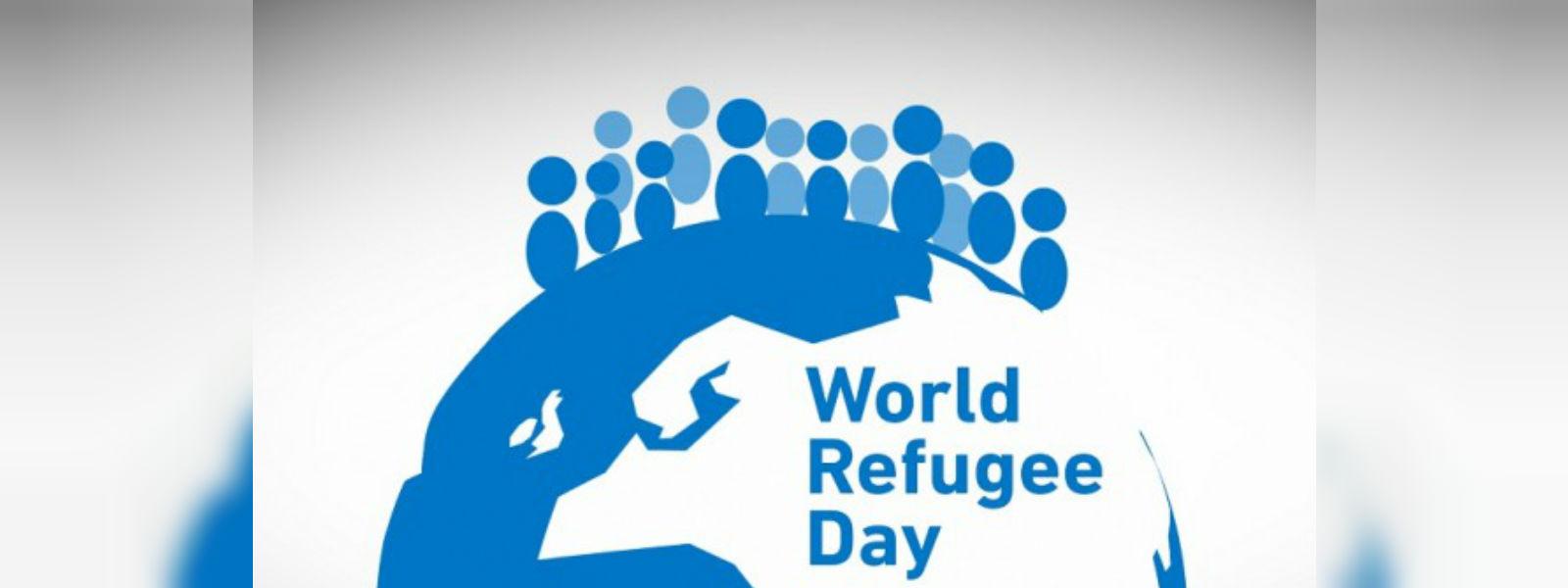Today marks the World Refugee Day; 1610 refugees in Sri Lanka