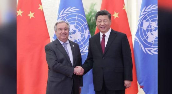 Chinese President meets UN Secretary-General