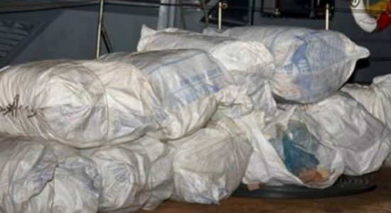 Beedi wrapping smuggling : Another 772 kg seized in Mannar
