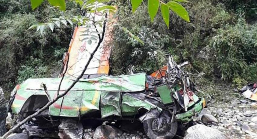 Kullu bus crash: More than 40 die in India gorge plunge