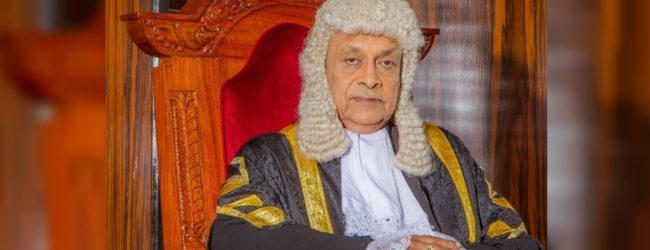 Speaker receives letter from Wijeyadasa Rajapakshe on Official Secrets Act