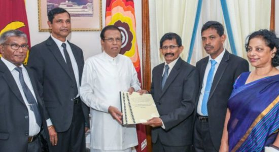 PCoI on corruption in state institutions hands over its interim report to President