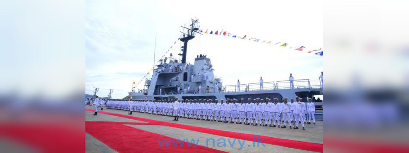 4th Fast Attack Squadron commissioned as 4th Fast Attack Flotilla in Trincomalee