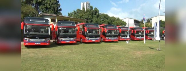 Sri Lanka Transport Board receives 9 luxury buses