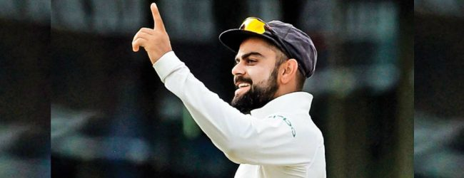 Kohli fined for excessive appealing in match against Afghanistan