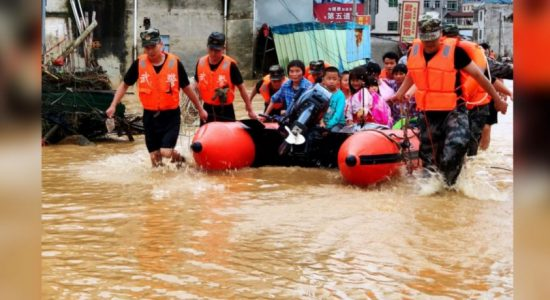 61 dead in heavy rains and floods in China