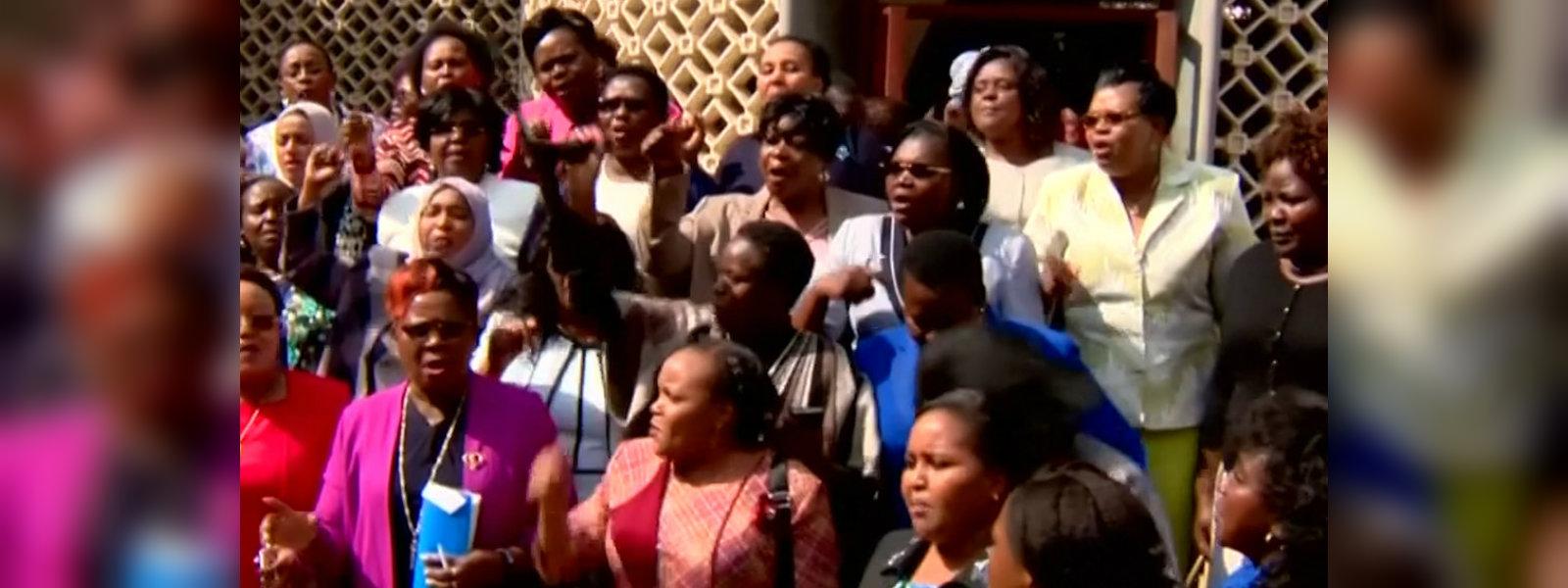 Female lawmakers storm out of Kenyan parliament after legislator assault