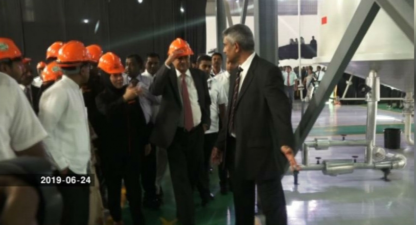 PM opens lubricant blending plant