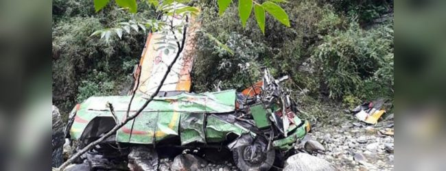 Kullu bus crash: More than 40 die in India gorge plunge