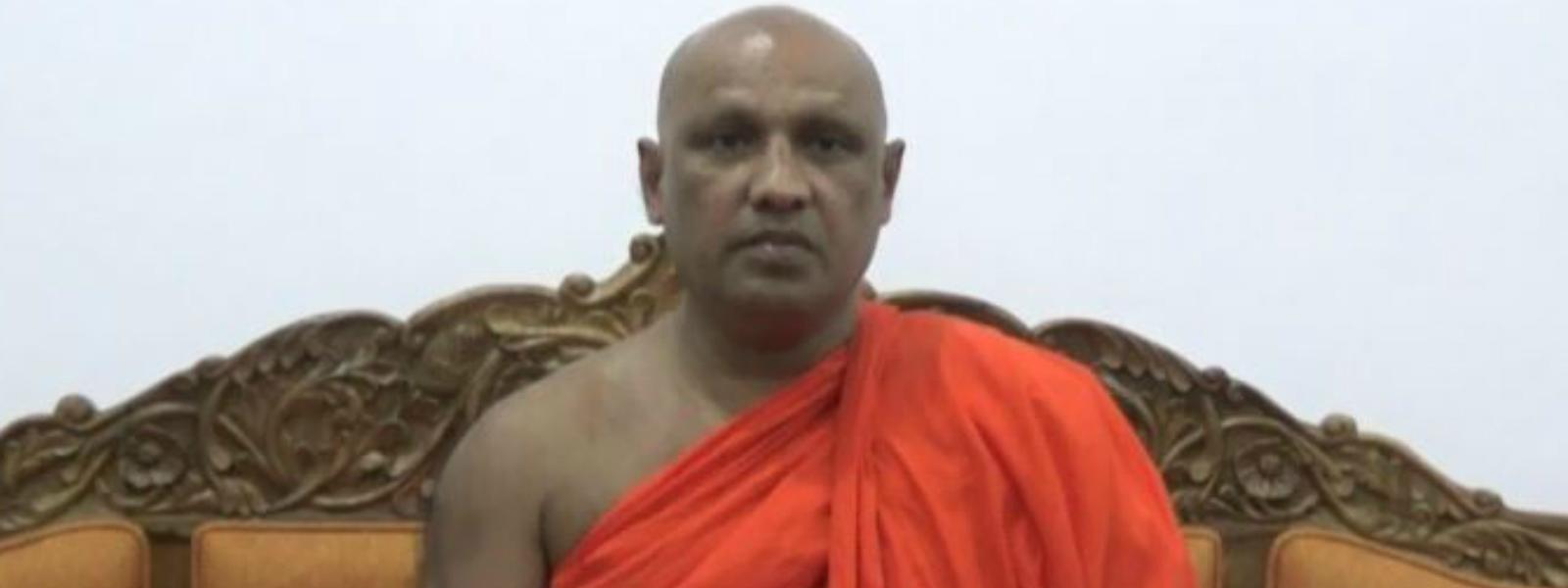 """Thecountry has been destabilized"" – Ven Narampanawe Ananda Thero"