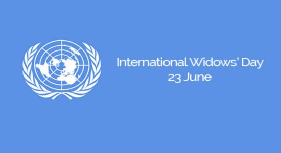 World Widows' Day : Invisible Women- Invisible Issues