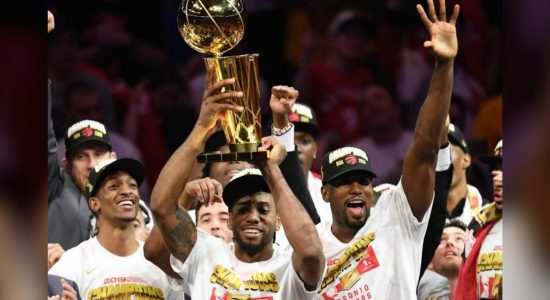 Toronto Raptors defeat Golden State Warriors to become the first Canadian team to win an NBA Championship