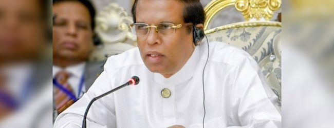 President states objection towards SOFA at cabinet meeting