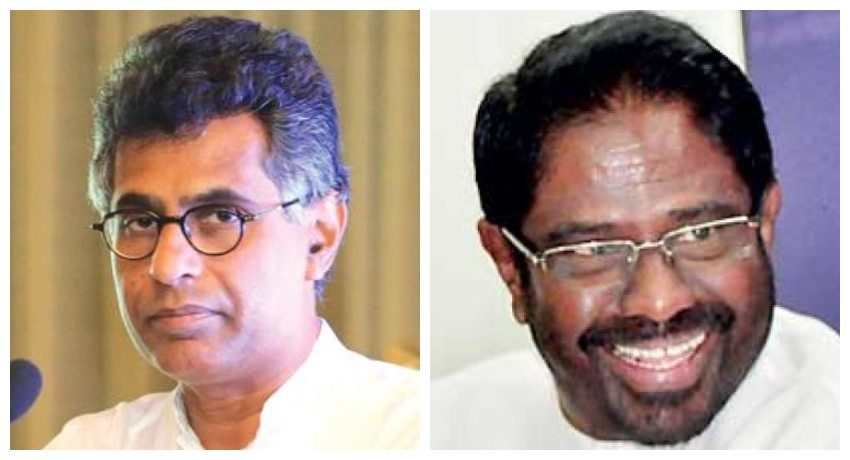 Vijith Vijayamuni and Champika Ranawaka to be appointed as UNP organisers