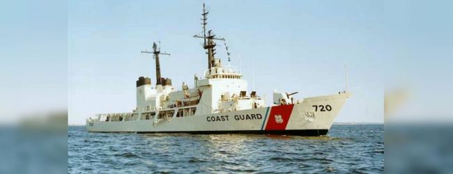 """SLNS """"Gajabahu"""" carries out first rescue operation"""