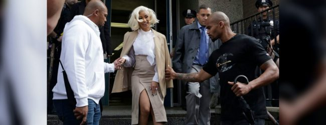 Rapper Cardi B attends court hearing