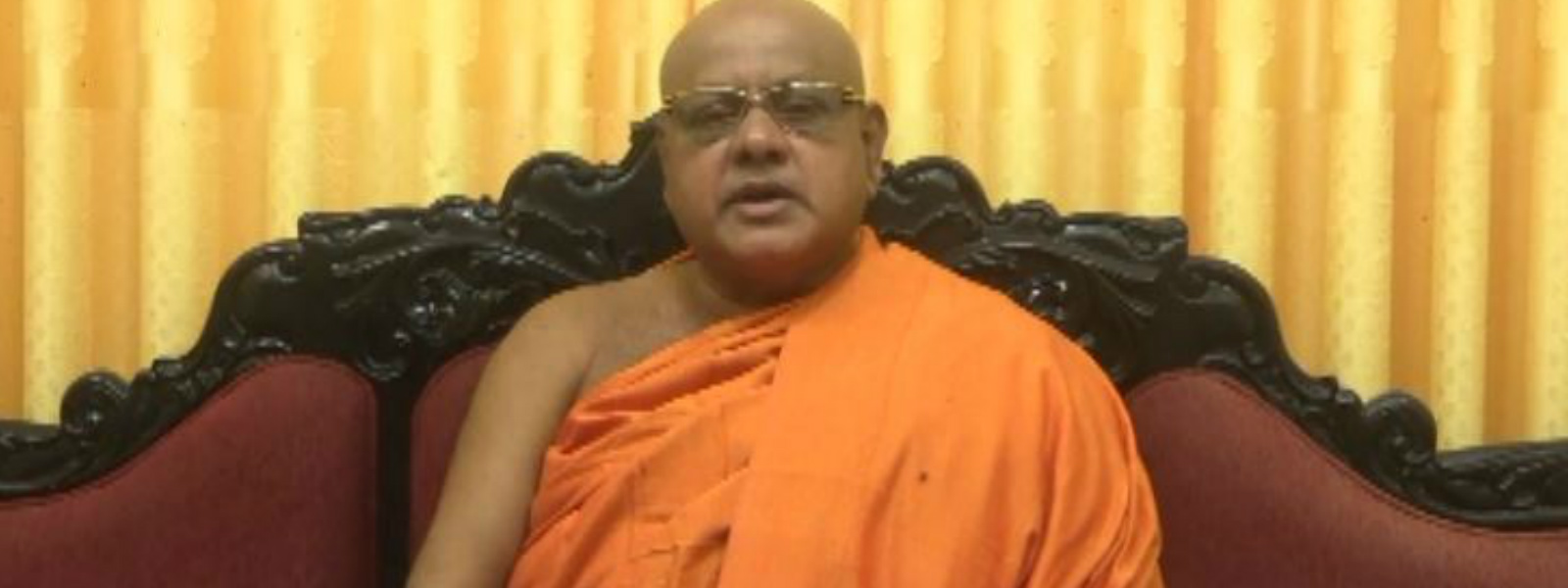 Rahula Thero calls on President and Prime Minister to control politicians