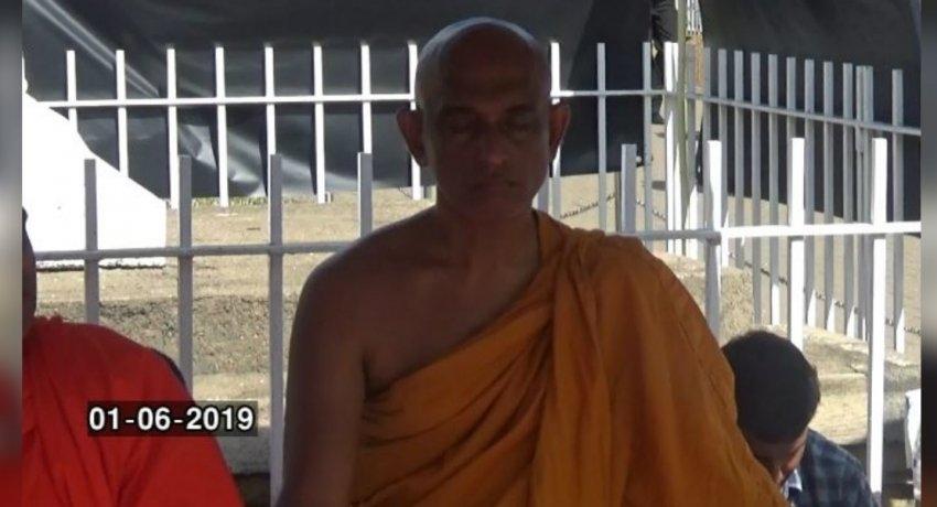 Ven. Rathana thero's fast enters day 4