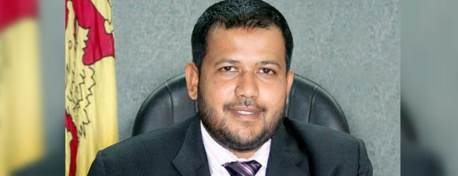 Bathiudeen says he'll sacrifice anything for Sri Lanka's reconciliation