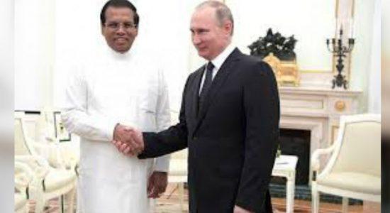 President invites Putin to Sri Lanka