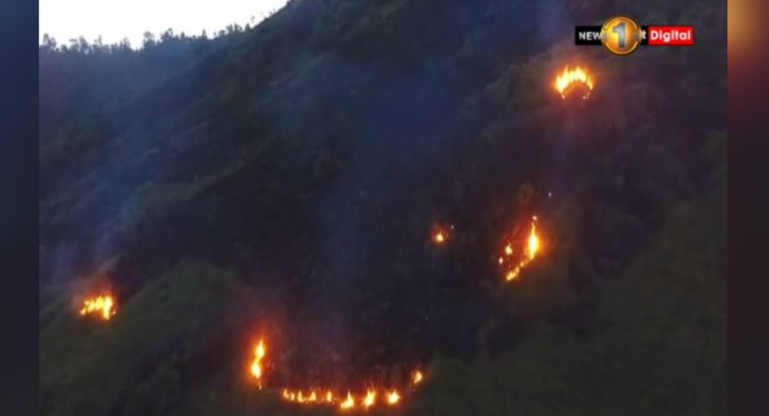 Fire near Knuckles reserve continues to spread