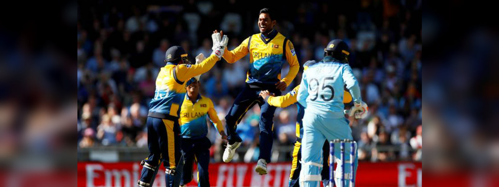 ICC Cricket World Cup: Sri Lanka shock hosts England