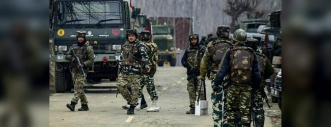 Security forces kill four militants in Indian Kashmir