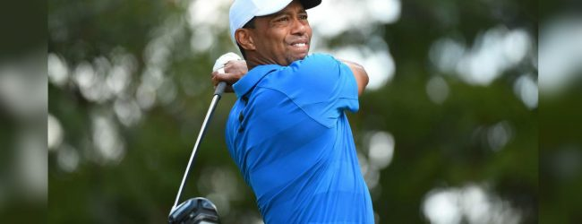 Woods takes stroll down Pebble memory lane