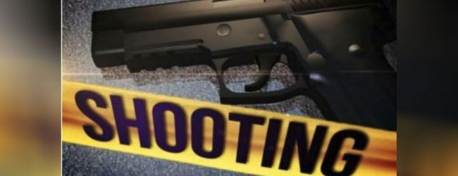 Shooting in Gothatuwa: One dead