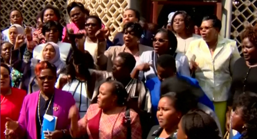 Female lawmakers storm out of Kenyan parliament after legislator assault