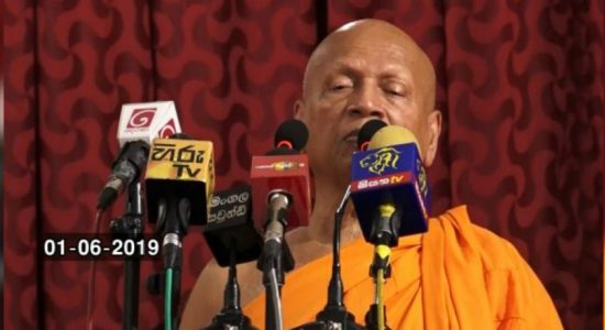 Government is hoping the public will forget 04/21 attacks : Venerable Bellanwila Dhammaratana Thero