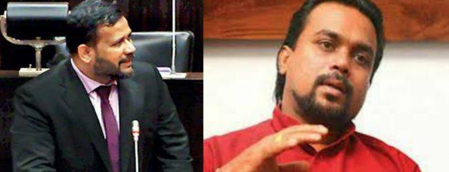 Bathiudeen challenges Weerawansa: Prove link to terrorism