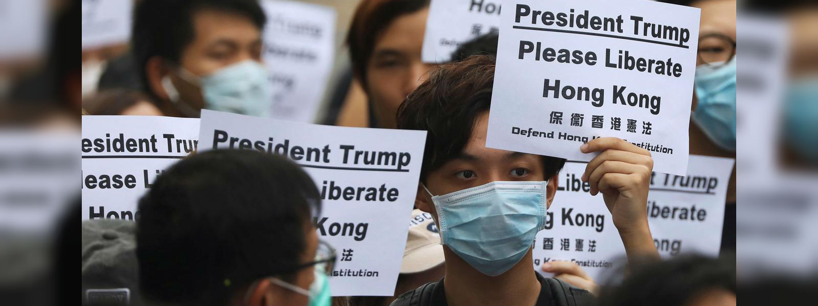 """Hong Kong activists call on G20 leaders to help """"liberate"""" city"""