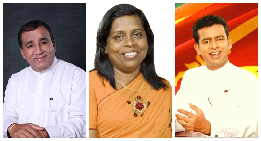 3 acting ministers sworn in before President