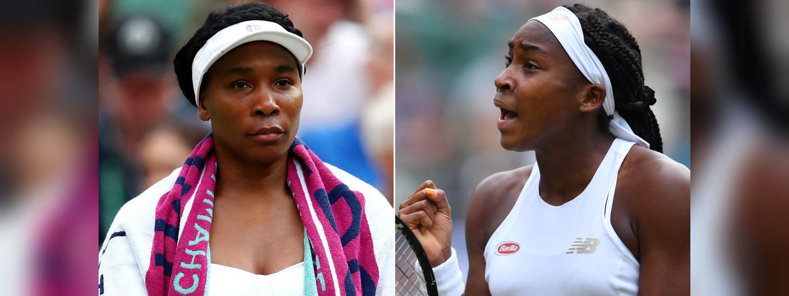 Venus defeat by 15-year old Gauff in Wimbledon