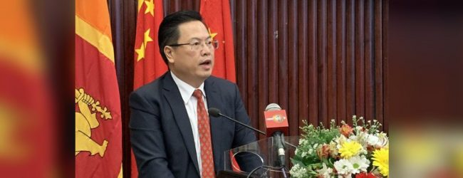 External interference can never bring benefits – Chinese Ambassador to Sri Lanka