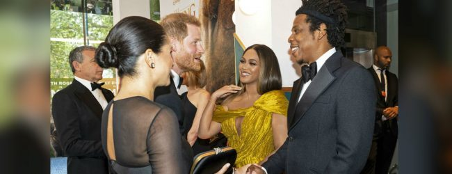 Meghan Markle meets Beyonce and Jay-Z