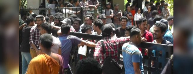 Sudden lock-out causes tense situation at Ruhunu University