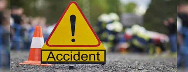 Ambulance crashes into bike killing rider at Hanwella